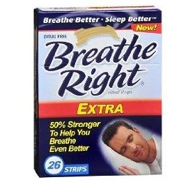 Breathe Right Nasal Strips, Extra, 26-Count Box Deal