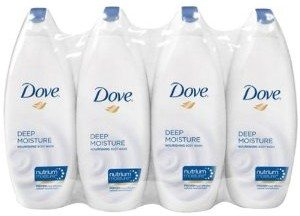 Dove Body Wash, Deep Moisture, 24 Ounce Bottles (Pack of 4) Deal