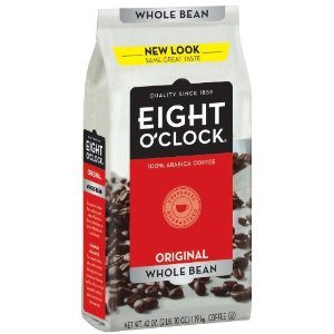 Eight O'Clock Coffee, Original Whole Bean, 42-Ounce Package Deal