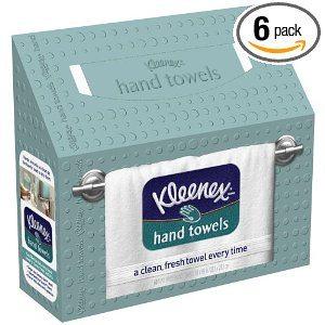 Kleenex White Hand Towel (Pack of 6) Deal