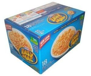 Kraft Easy Mac Original Macaroni and Cheese Dinner 18 Microwaveable Single Serve Packs Deal