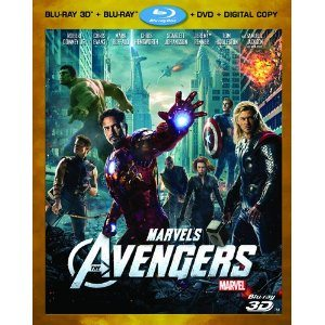 Marvel's The Avengers (Four-Disc Combo: Blu-ray 3D/Blu-ray/DVD + Digital Copy) Deal