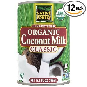 Native Forest Organic Classic Coconut Milk, 13.5-Ounce Cans (Pack of 12) Deal