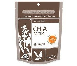 Navitas Naturals Chia Seeds, 16-Ounce Pouches Deal