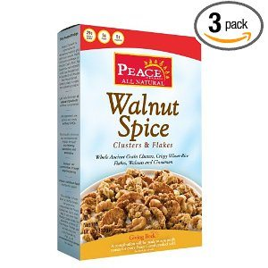 Peace Cereal Walnut Spice, 11-Ounce (Pack of 3) Deal