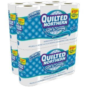 Quilted Northern Soft and Strong, Double Rolls, (4 packs of 6 double rolls) 24 total count Deal