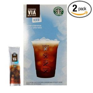 Starbucks VIA Iced Coffee, 6-Count Packages (Pack of 2) Deal
