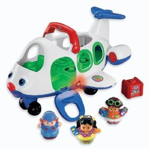 fisher price little people movers airplane deal