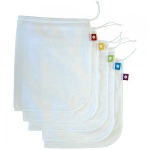 flip and tumble 5-Pack Reusable Produce Bags Deal