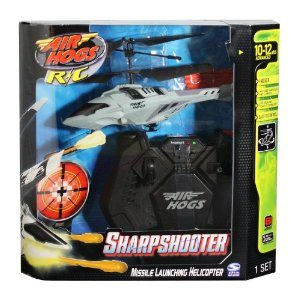 Air Hogs Silver/Black Sharp Shooter Deal