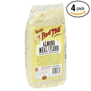 Bob's Red Mill Almond Meal/Flour, 16-Ounce Packages (Pack of 4) Deal