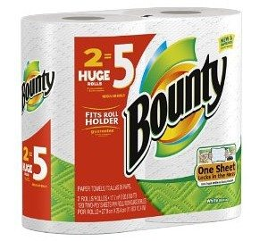 Bounty Paper Towels, Huge Size, 8 Count Deal