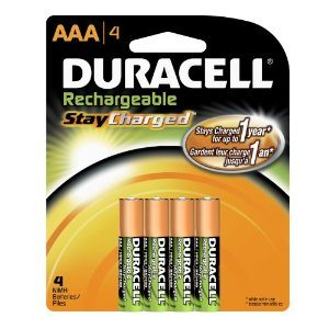 Duracell Rechargeables StayCharged AAA Batteries Deal