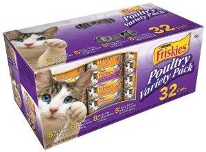 Friskies Poultry Variety Pack, 5.5-Ounce Cans (Pack of 32) Deal