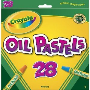 Crayola 28ct Colored Oil Pastel Sticks Deal