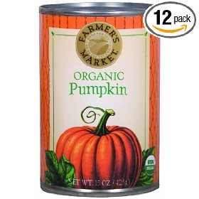 Farmers Market Organic Pumpkin, 15-Ounce (Pack of 12) Deal