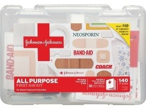 Johnson & Johnson All Purpose First Aid Kit (140 items) Deal