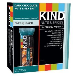 KIND Nuts & Spices, Dark Chocolate Nuts & Sea Salt, 12-Count Bars Deal