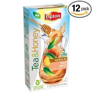 Lipton Iced Tea Mix Pitcher Packs Deal
