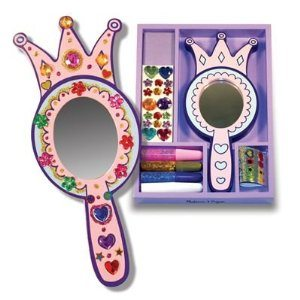 Melissa & Doug Wooden Princess Mirror - DYO Deal