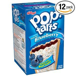 Pop-Tarts, Frosted Blueberry, 8-Count Tarts (Pack of 12) Deal