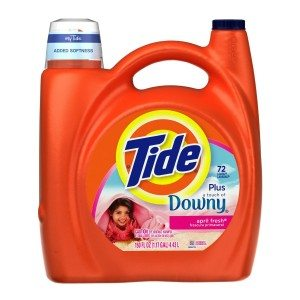 Tide with a Touch of Downy April Fresh Scent with Actilift, 150.0-Ounce Bottles (Pack of 2) Deal