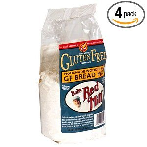 Bob's Red Mill Gluten-Free Homemade Wonderful Bread Mix, 16-Ounce Packages (Pack of 4) Deal