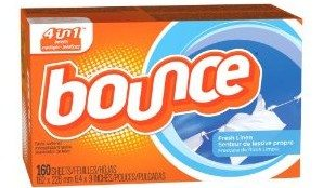 Bounce Fresh Linen Sheets, 160 Count Deal