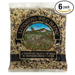 Lundberg Wild Blend, Gourmet Blend of Wild and Whole Grain Brown Rice, 16-Ounce Bags (Pack of 6) Deal