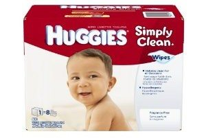 Huggies Simply Clean Fragrance Free Baby Wipes Refill, 600 Count Deal