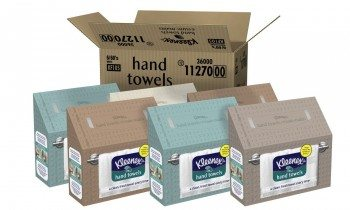 Kleenex White Hand Towel (Pack of 6) Deal