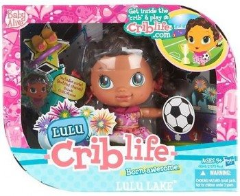 Baby Alive Crib Life Fashion Play Doll - Lulu Lake Deal