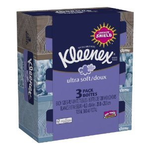 Kleenex Ultra Facial Tissue Regular, 360 Count Deal