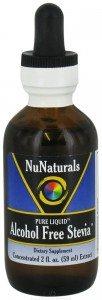 NuNaturals Nustevia Alcohol Free Stevia Glass Bottle Liquid, 2-Ounce Deal