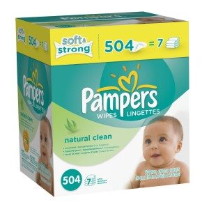 Pampers Softcare Unscented Wipes 7x Box 504 Count Deal