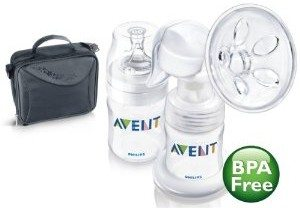 Philips AVENT BPA Free Manual On the Go Breast Pump Deal