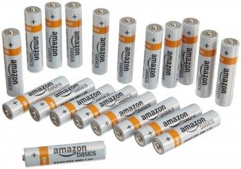 AmazonBasics AAA Alkaline Batteries (Pack of 20) Deal