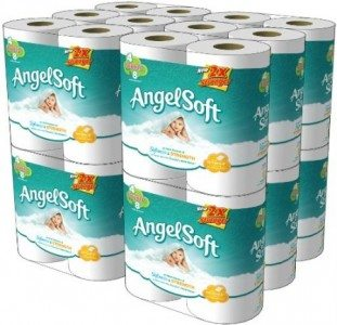 Angel Soft, Double Rolls, [4 Rolls*12 Pack] = 48 Total Count Deal