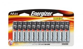 Energizer Max Alkaline AA Battery, 24-Count Deal