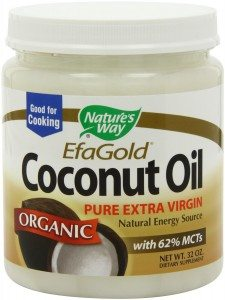 Nature's Way EfaGold. Organic, Pure Extra Virgin Coconut Oil, 32-Ounce Jar Deal