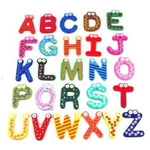 SODIAL- Funky Fun Colorful Magnetic Numbers Wooden Fridge Magnets Deal