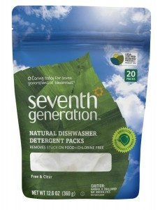 Seventh Generation Natural Dishwasher Detergent Pacs, Free & Clear Deal