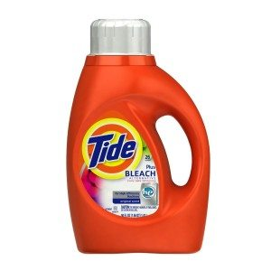 Tide with Bleach Alternative High Efficiency Original Scent Detergent, 50 Ounce (Pack of 2) Deal