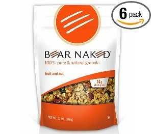 Bear Naked All Natural Granola, Fruit and Nut,  12-Ounce Pouches (Pack of 6) Deal