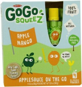 GoGo Squeez Applesauce on the Go, 3.2-Ounce Pouches Deal
