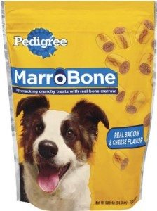 Pedigree Marrobone Bacon and Cheese Dog Snack Treat, 24-Ounce Deal