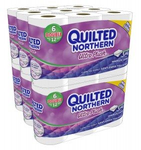 Quilted Northern Ultra Plush Double Rolls, 6 Rolls, Pack of 6 (36 Rolls) (Packaging May Vary) Deal