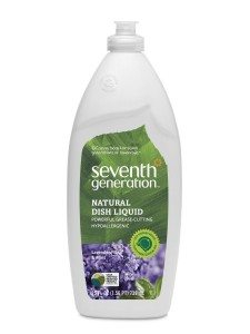 Seventh Generation Dish Liquid, Lavender Floral & Mint, 25-Ounce Bottles (Pack of 6) Packaging May Vary Deal