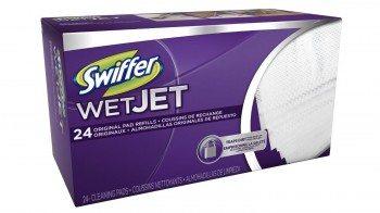 Swiffer WetJet Spray Mop Floor Cleaner Pad Refills, 24-Count (Pack of 2) (Packaging May Vary) Deal