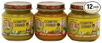 Earth's Best Organic Country Dinner, 2nd Variety Pack, 4 Ounce Jars (Pack of 12) Deal